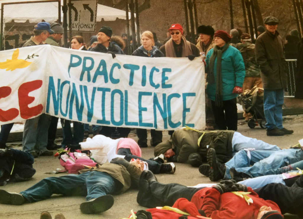 """Practice Nonviolence"""